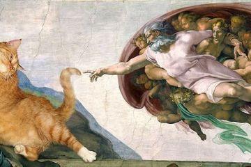 Il mio gatto nelle opere d'arte più famose