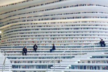 Biblioteche futuristiche. In Cina costruita una biblioteca che sembra uscita da un film di fantascienza