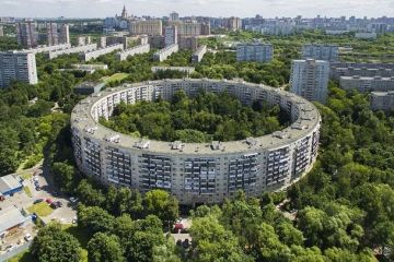 In Russia un edificio stile Colosseo