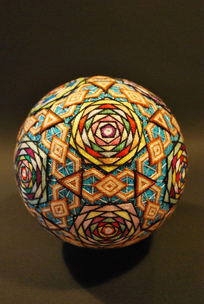 L'arte giapponese del Temari e gli incredibili ricami nella raccolta di NanaAkua