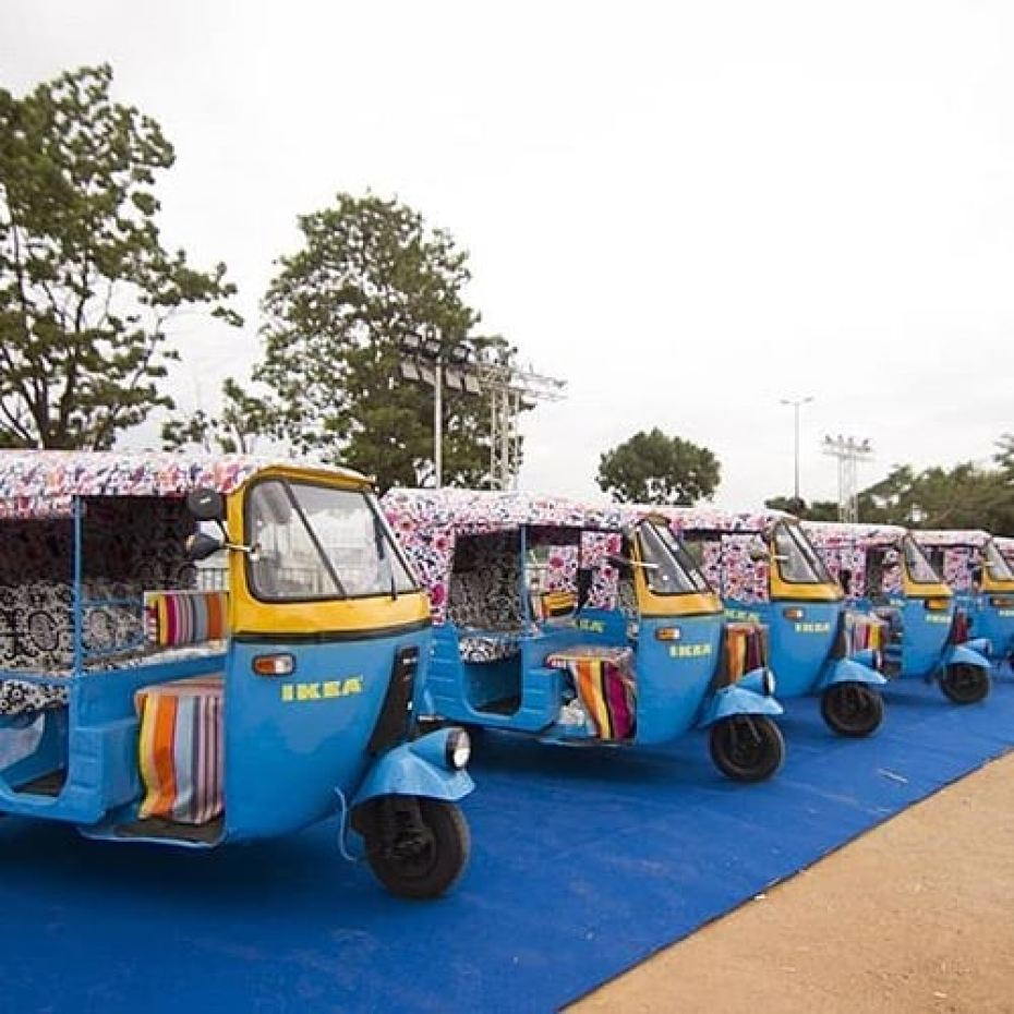 Ikea sbarca in India e per le consegne usa risciò a energia solare