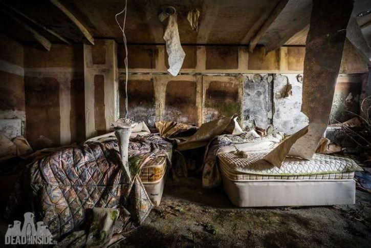 Un hotel abbandonato in Giappone