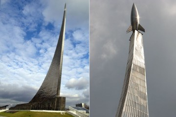 Monumento ai conquistatori dello spazio a Mosca
