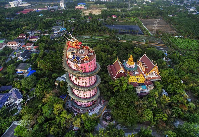 Dragon Temple Wat Samphran una tra le mete poco conosciute in Tailandia