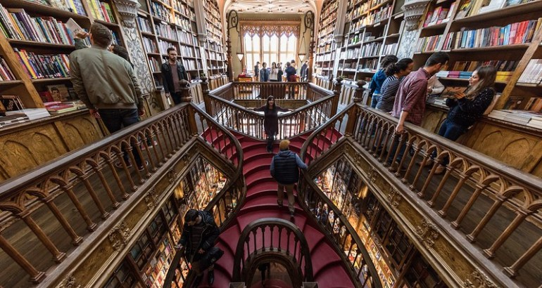 La libreria di Harry Potter