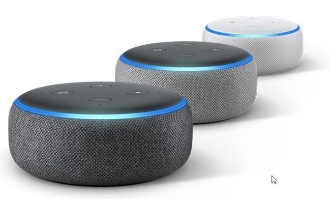 Echo Dot vari colori