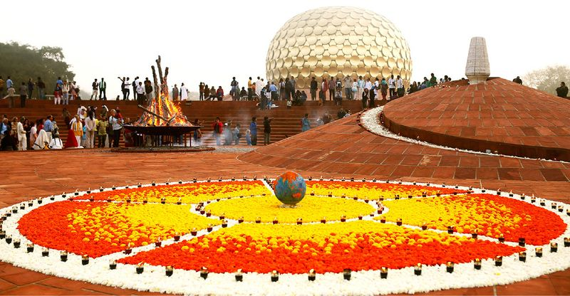 Auroville in India