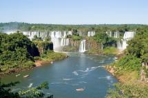 Iguazu Falls Argentina and Brazil