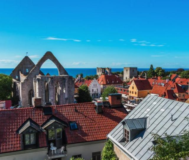 Views Of Visby Sweden