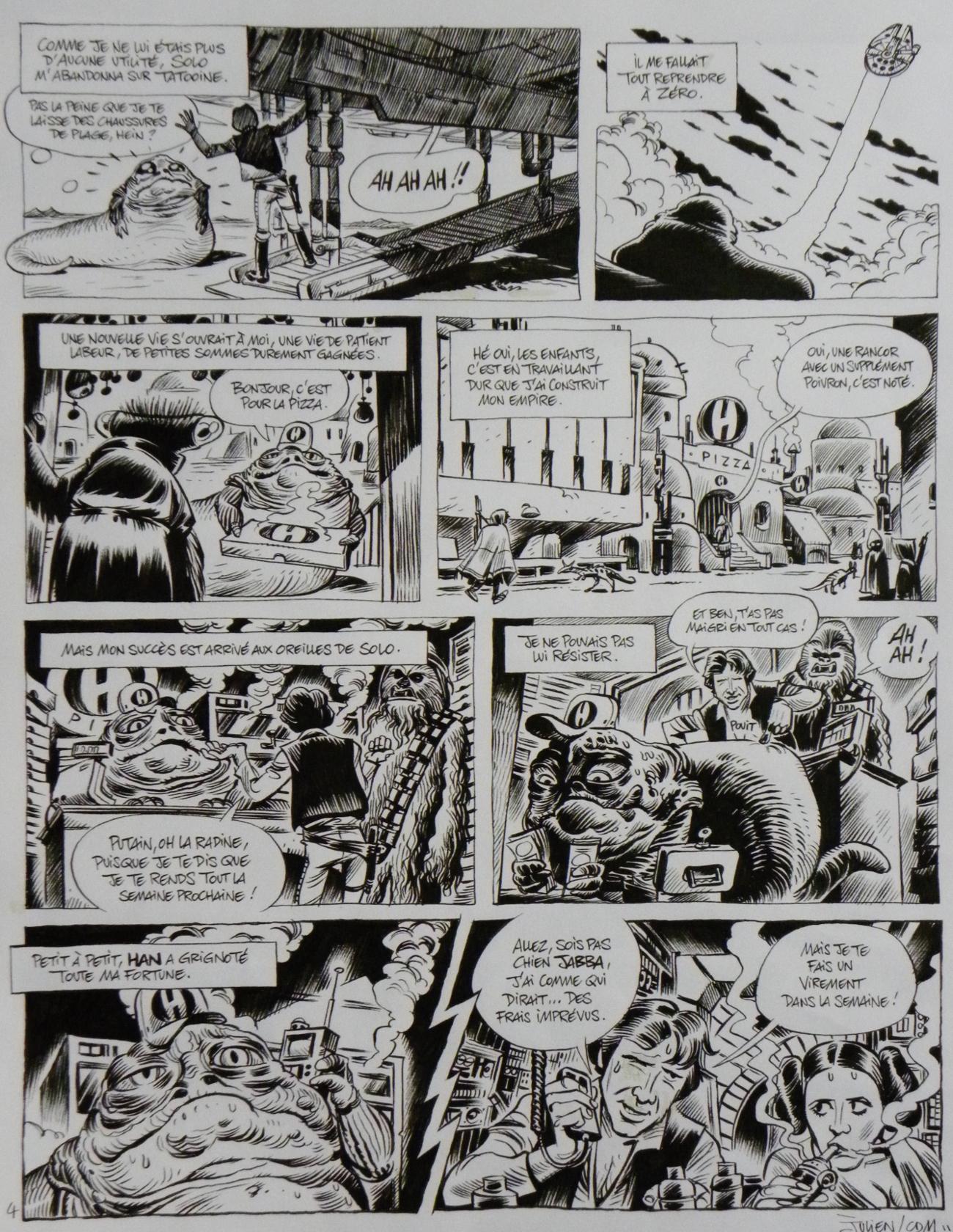Star Wars La Verite Sur Jabba The Hutt Page 4 Julien