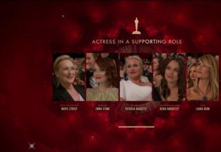 Oscars 2015 Meilleure Second rôle féminin4