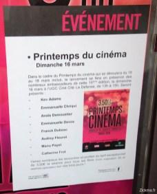 Le printemps du cinéma 2