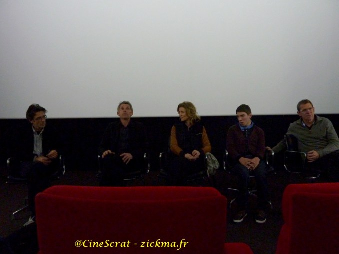 Nils Tavernier, Jacques Gamblin, Alexandra Lamy, Fabien Héraud et Philip Boëffard