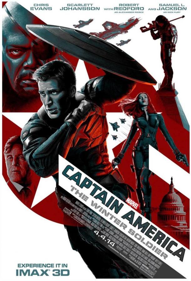 captain america imax