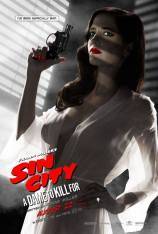 Sin City Eva Green poster censuré