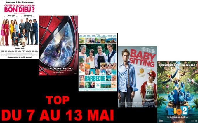 TOP 7 AU 13 MAI