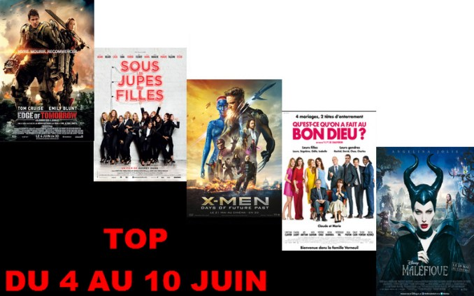 TOP 4 AU 10 JUIN