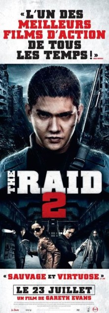 the raid 2 affiches perso1