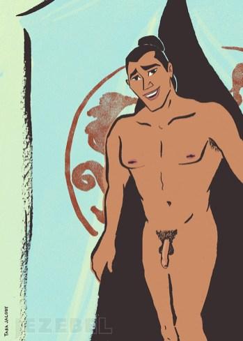Princes Disney nus4