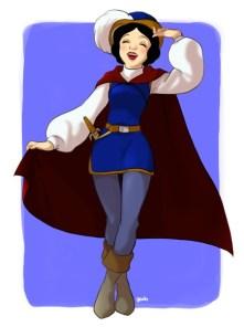 Princesses Disney en mode princes6
