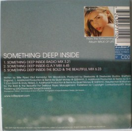Billie Piper Something deep inside single1