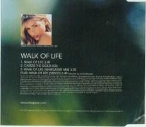 Billie Piper walk of life single3