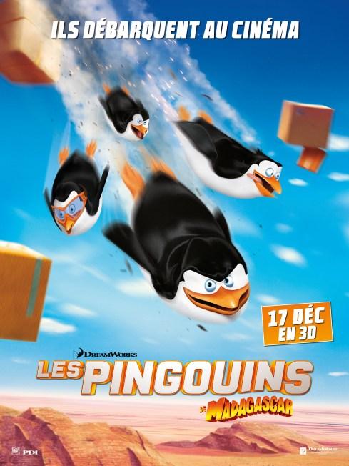 Les pingouins de Madagascar poster
