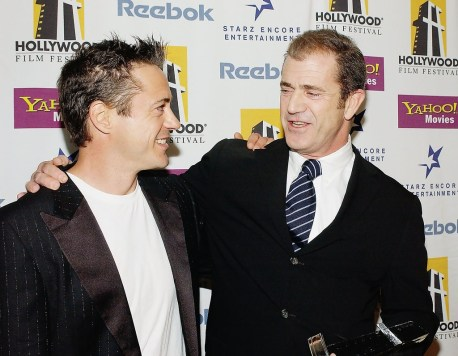 Robert Downey Jr et Mel Gibson1