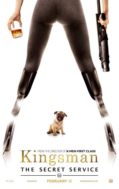 Kingsman posters VO4
