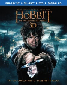The hobbit 3 bluray Import US