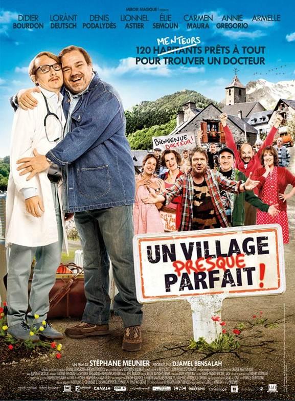 Un village presque parfait affiche