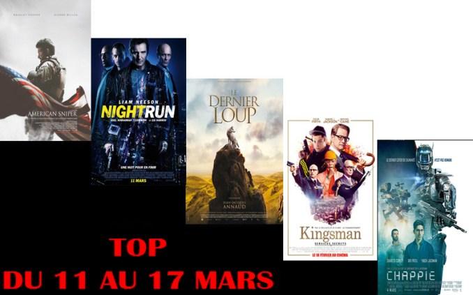 TOP 11 AU 17 MARS