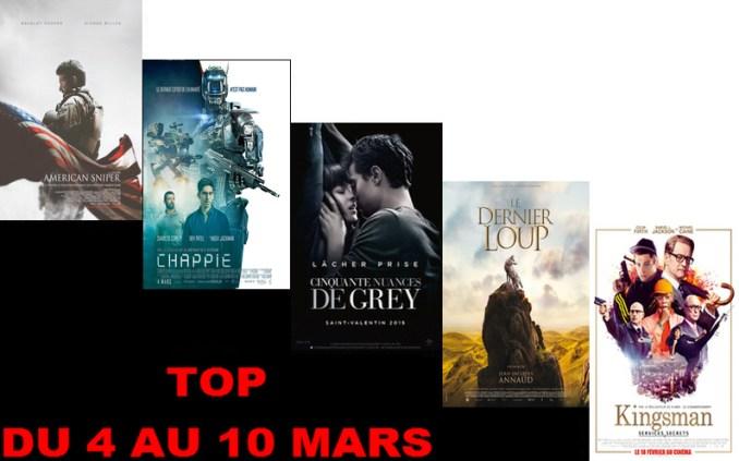 TOP 4 AU 10 MARS