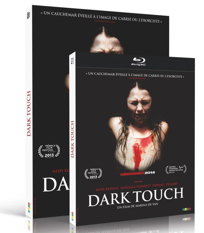 DVD+BR DARK TOUCH