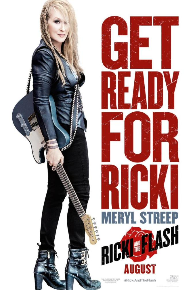 Ricki and the Flash affiche