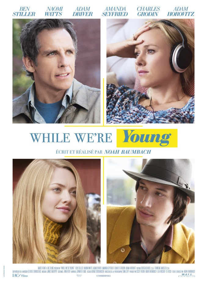 WHILE-WERE-YOUNG-Affiche-France