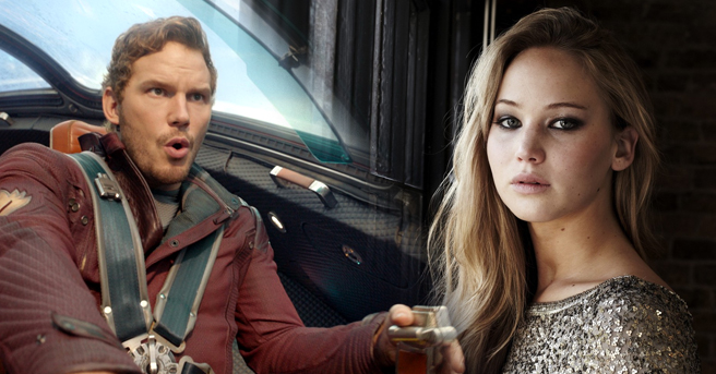 Chris Pratt-Jennifer Lawrence-Passengers
