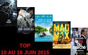top 10 au 16 juin