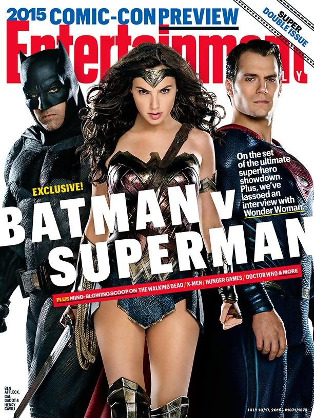 Batman V Superman-Entertainment Weekly