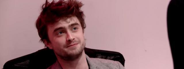 Daniel Radcliffe-réceptionniste