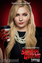 Scream Queens bloody poster sang11
