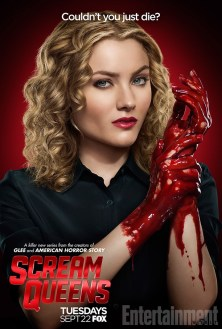 Scream Queens bloody poster sang5