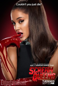 Scream Queens bloody poster sang7