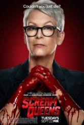 Scream Queens bloody poster sang8