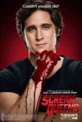 Scream Queens bloody poster sang9