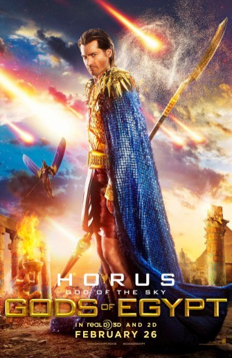 Gods of Egypt posters