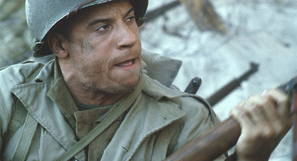 Vin Diesel Saving Private Ryan