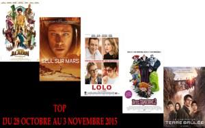 top 28-10 au 03-11-2015