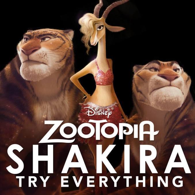 Shakira Zootopie