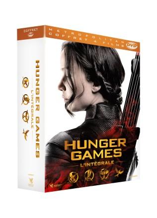 3D COFF INTEGRALE DVD HUNGER GAMES